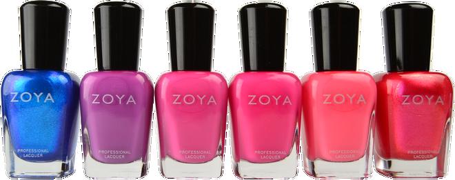 Zoya 6 pc Wanderlust Collection A