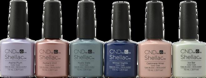 CND Shellac 6 pc Glacial Illusion Collection