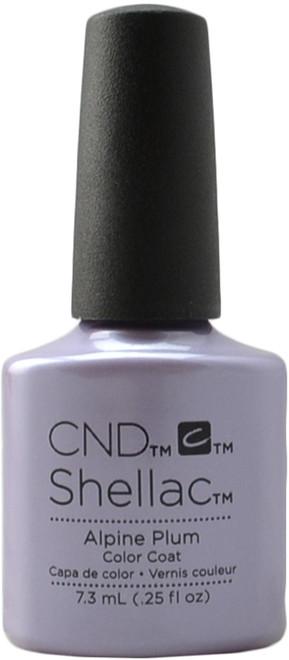 CND Shellac Alpine Plum (UV / LED Polish)