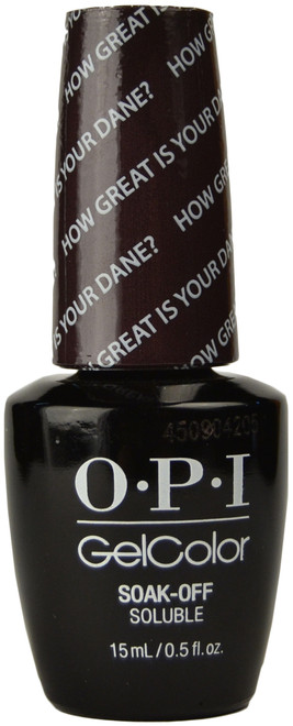 OPI GelColor How Great Is Your Dane? (UV / LED Polish)