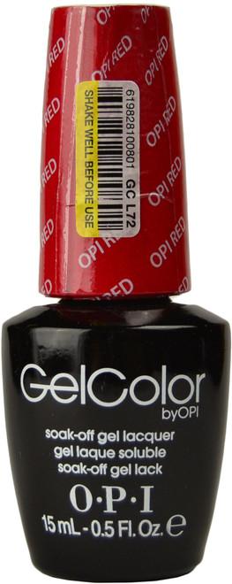 OPI GelColor OPI Red (UV / LED Polish)