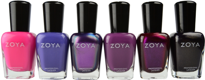 Zoya 6 pc Party Girls Collection B