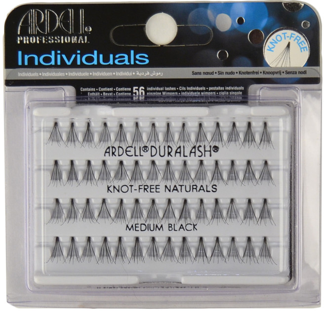 Ardell Lashes Individuals Knot-Free Medium Black Ardell Lashes