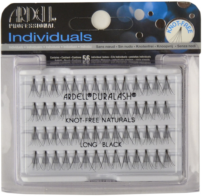 Ardell Lashes Individuals Knot-Free Long Black Ardell Lashes