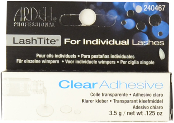 Ardell Lashes LashTite Clear Adhesive For Individual Lashes (0.125 oz. / 3.5 g)