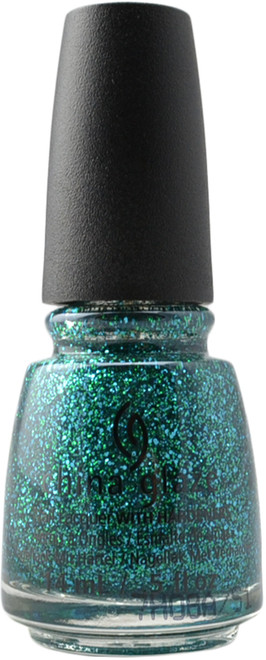 China Glaze Teal The Fever