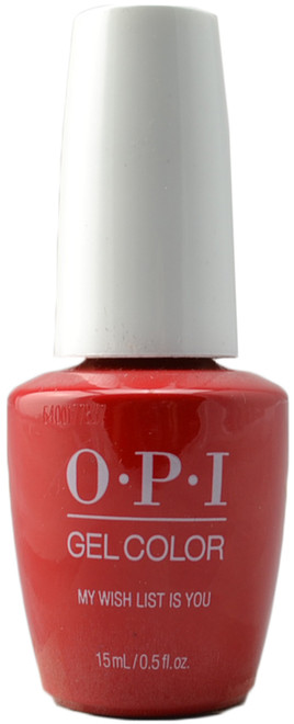 OPI GelColor My Wish List Is You (UV / LED Polish)