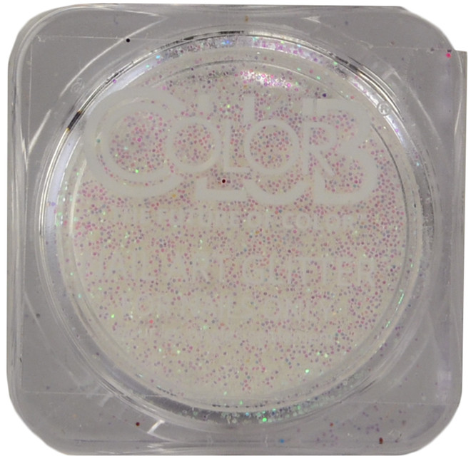 Color Club White Light Nail Art Glitter (3 g)