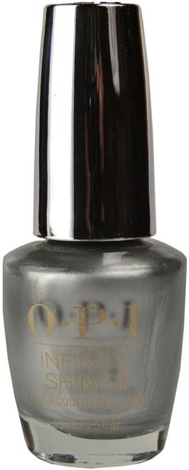 OPI Infinite Shine Silver On Ice (Week Long Wear)