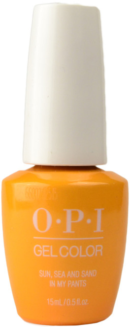 OPI GelColor Sun, Sea And Sand In My Pants (UV / LED Polish)