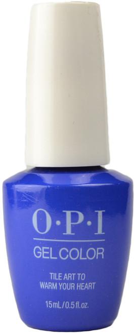 OPI GelColor Tile Art To Warm Your Heart (UV / LED Polish)