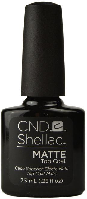 CND Shellac UV Matte Top Coat (0.25 fl. oz. / 7.3 mL)