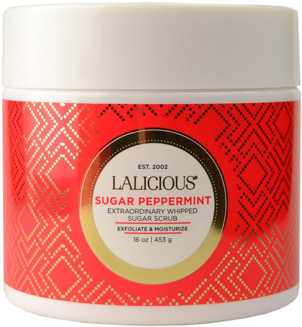 Lalicious Medium Sugar Peppermint Extraordinarily Whipped Sugar Scrub (16 oz. / 453 g)