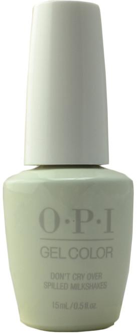 OPI GelColor Don't Cry Over Spilled Milkshakes (UV / LED Polish)