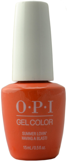 OPI GelColor Summer Lovin' Having A Blast! (UV / LED Polish)