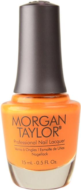Morgan Taylor You've Got Tan-Gerine Lines