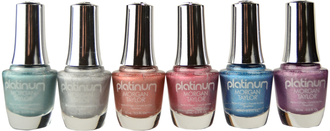 Morgan Taylor 6 pc Platinum Collection