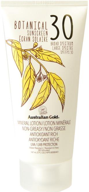 Australian Gold Botanical Sunscreen Mineral Lotion SPF 30 (5 fl. oz. / 147 mL)