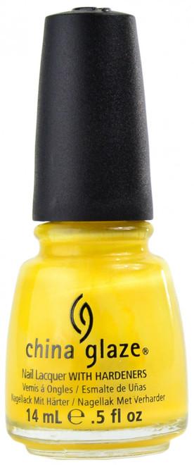 China Glaze Sunshine Pop nail polish