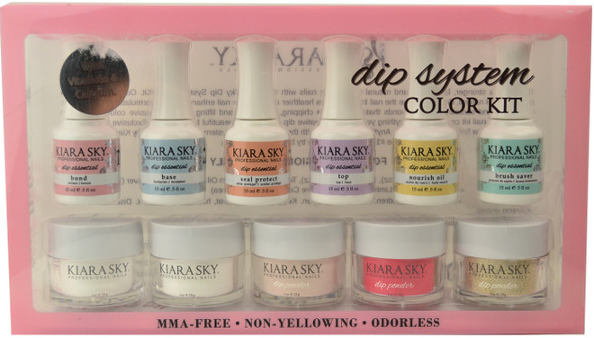 Kiara Sky 11 pc Color Starter Kit