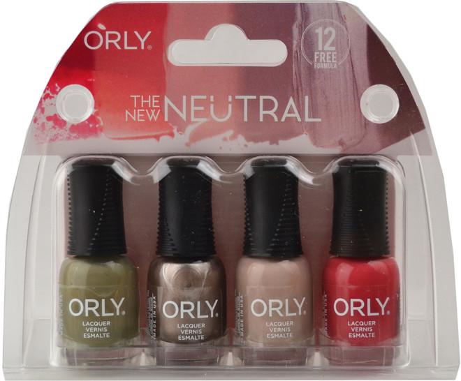 Orly 4 pc The New Neutral Mini Set