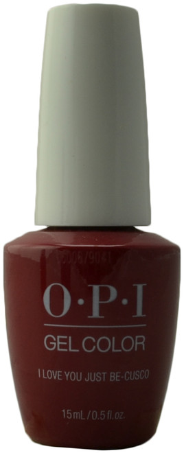 OPI Gelcolor I Love You Just Be-Cusco (UV / LED Polish)