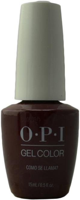 OPI Gelcolor Como Se Llama? (UV / LED Polish)