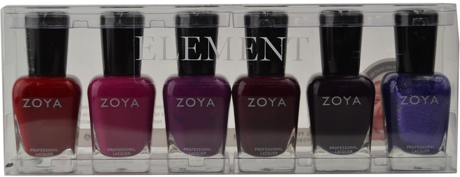 Zoya 6 pc Element Collection B