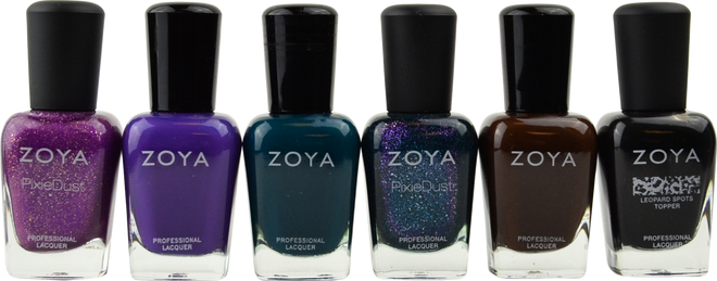 6 pc Jubilee Collection B by Zoya