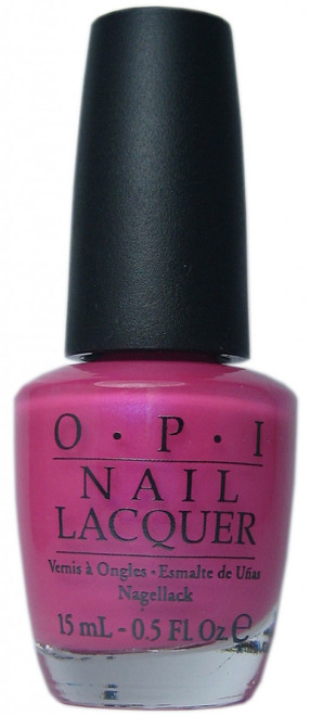 OPI La Paz-Itively Hot nail polish