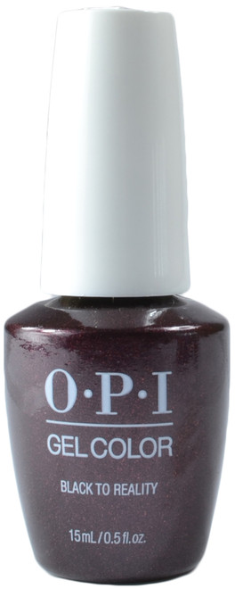 OPI Gelcolor Black To Reality