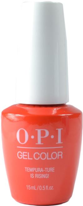 OPI Gelcolor Tempura-ture Is Rising! (UV / LED Polish)