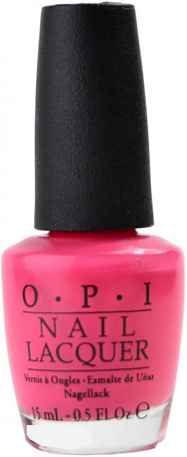 OPI Strawberry Margarita nail polish