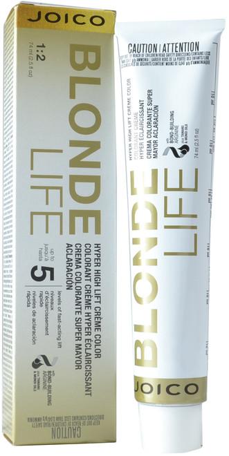 JOICO Blonde Life Champagne Hyper High Lift Crème Color (2.5 fl. oz. / 74 mL)