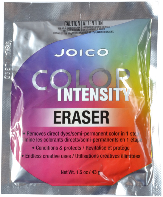 JOICO Color Intensity Eraser - Direct Dye & Semi-Permanent Color Remover (1.5 oz. / 43 g)