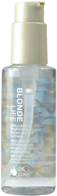 JOICO Blonde Life Brilliant Glow Brightening Oil (3.4 fl. oz. / 100 mL)