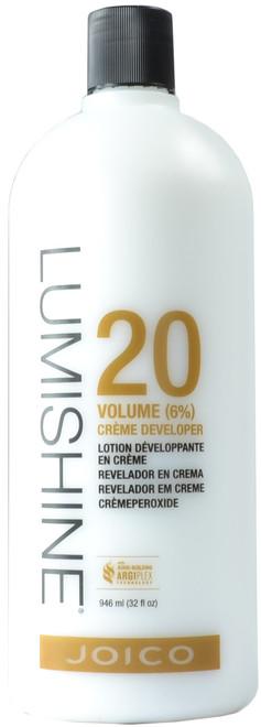 JOICO Lumishine 20 Volume (6%) Crème Developer (32 fl. oz. / 946 mL)