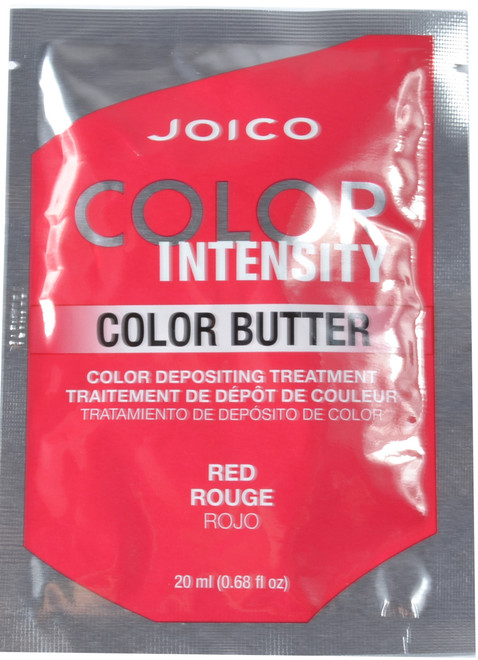 JOICO Color Intensity Red Color Butter Color Depositing Treatment (0.68 fl. oz. / 20 mL)