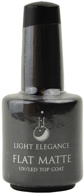 Light Elegance Flat Matte UV / LED Gel Top Coat (0.54 fl. oz. /15 mL)