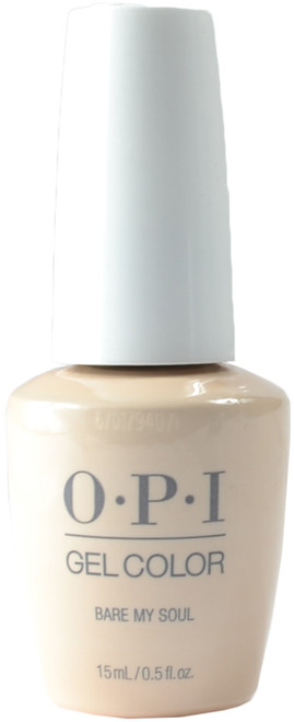 OPI Gelcolor Bare My Soul (UV / LED Polish)