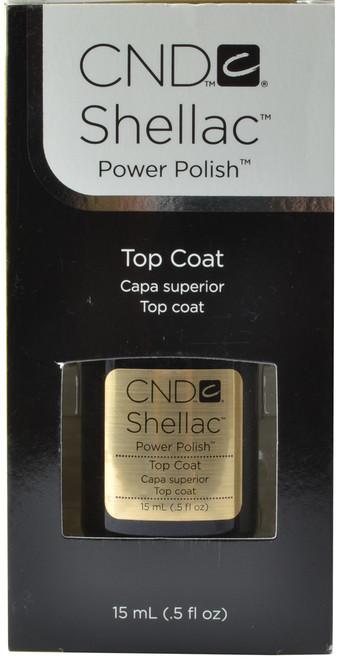 CND Shellac Large Original UV / LED Top Coat (0.5 fl. oz. / 15 mL)