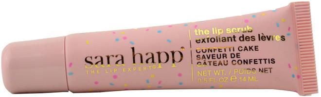 Sara Happ Confetti Cake Lip Scrub Tube (0.5 fl. oz. / 14 mL)