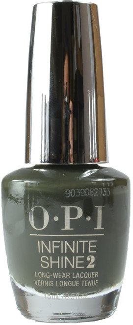 OPI Infinite Shine Things I've Seen in Aber-Green (Week Long Wear)