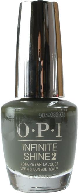 OPI Infinite Shine Things I've Seen in Aber-Green (Week Long Wear)