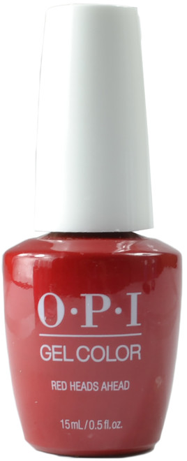 OPI Gelcolor Red Heads Ahead (UV / LED Polish)