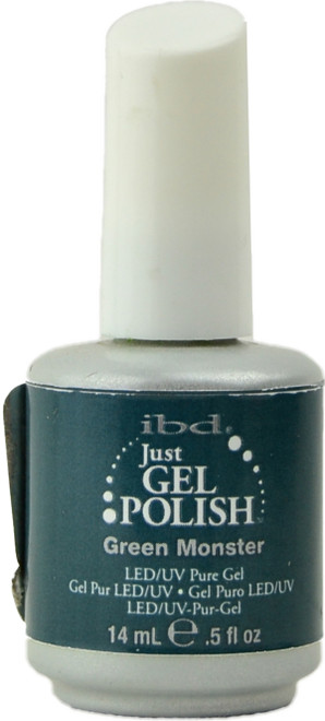 Ibd Gel Polish Green Monster (UV / LED Polish)