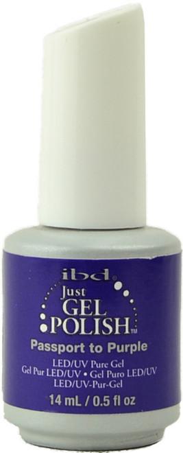 Ibd Gel Polish Passport to Purple (UV / LED Polish)