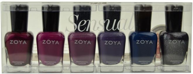 Zoya 6 pc Sensual 2019 Collection B
