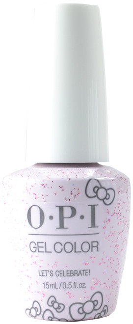 OPI Gelcolor Let's Celebrate! (UV / LED Polish)