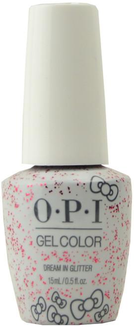 OPI GelColor Dream in Glitter (UV / LED Polish)